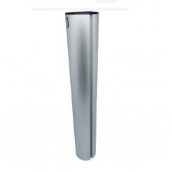 """Пьедестал-стойка для врезного основания фиксированный длинной 13"""" (330мм) D-60мм"""