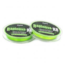 Шнур плетеный Rapinova-X8 0.235мм 150м ярко-зеленый