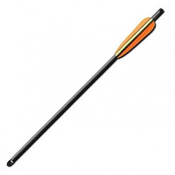 Стрела для арбалета карбон 43 см
