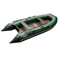 Моторная лодка ПВХ Hunter 3200 эконом цвет зеленый
