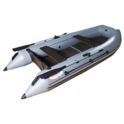 Моторная лодка ПВХ Hunter 3200 эконом цвет серый