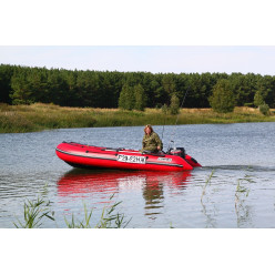 Лодка надувная ПВХ CompAs 400