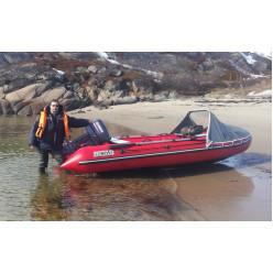 Лодка надувная ПВХ CompAs 420