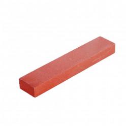 Точильный камень 10*10*15 красный