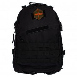 Рюкзак тактический RU 010 цв.черный тк.Оксфорд 45л