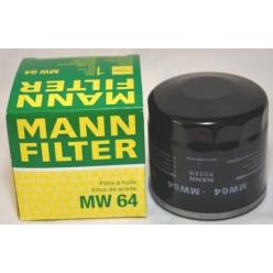 Фильтр масляный MANN MW64  для мотоциклов