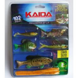 Набор силиконовых приманок Kaida AG008
