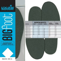 Стельки бахил термо Norfin BIGFOOT непромокаемые р.45