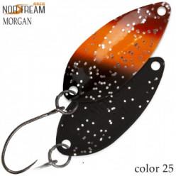 Блесна колеблющаяся NORSTREAM MORGAN 2,4 г код цв. 25