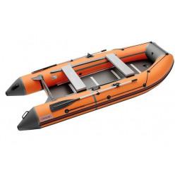 Лодка Roger Hunter Keel 3200 AL т.серый/оранжевый