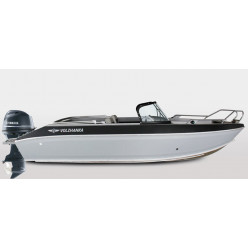 Лодка Волжанка FISH 53 с мотором YAMAHA F100