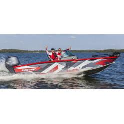 Лодка Волжанка 54 FishPro c мотором YAMAHA F150