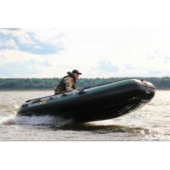 Лодка надувная транцевая Солар Максима-380 К зеленый
