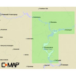 Карта пам C-MAP RS-N222 Волга (Чебок-Тольятти)