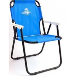 Кресло-шезлонг Кедр сталь синий SK-08