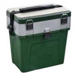 Ящик зимний ТРИ КИТА зеленый 380*360*240