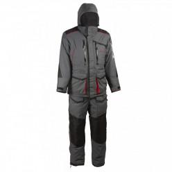 Костюм Huntsman Siberia цв.серый/черный тк.Breathable  р44-46