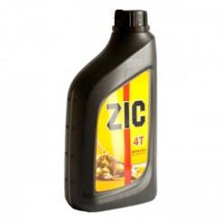 Моторное масло ZIC 4T 10W-40 SJ полусинтетическое для мототехники 1л 3327