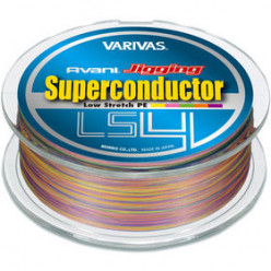 Плетеный шнур Varivas Avani Jigging Super Conductor LS4 #2 300м 0.235мм