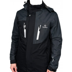 Куртка флис T4Z13-PLM002, Цв.Серый, L