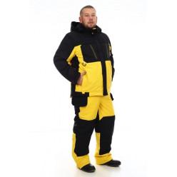 Зимний костюм Грант (мембрана черно-жёлтый) -35 р.44-46