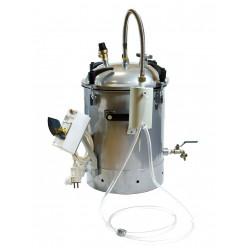 Автоклав-стерилизатор электрический из нержавеющей стали  Малыш 22 л.