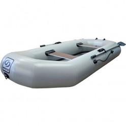 Лодка надувная гребная ПВХ Фрегат М-3 серая