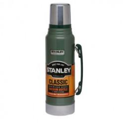 Термос STANLEY Classic 1L 10-01254-010 темно-зеленый