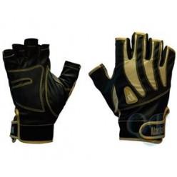 Перчатки спиннингиста Alaskan беспалые BL/Beg XL