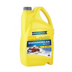 Масло RAVENOL SNOWMOBILES Mineral 2-Takt 4л минеральное  для снегоходов