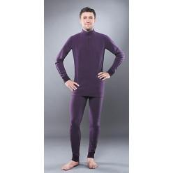 Кальсоны Guahoо мужские Fleece 700Р/DVT темно-фиолетовые 4XL