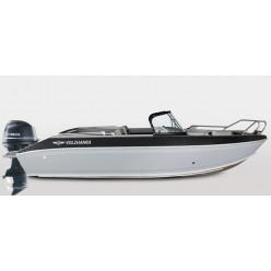 Лодка Волжанка 49 Фиш транец 510 с доп.опциями с мотором Yamaha F70AETL
