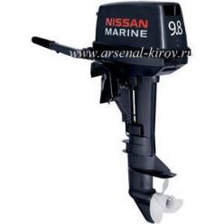 Лодочный мотор Nissan Marine NS 9.8 B 1 26 кг