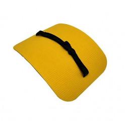 Коврик сидушка жёлтый/оранж 340*260*16