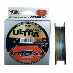 Шнур YGK Ultra2 Max WX8 #1.0 200м 0.165мм