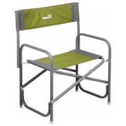 Кресло директорское со столиком серый/зелёный T-HS-DC-95200T-GG