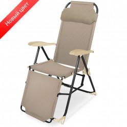 Кресло-шезлонг 3 с подножкой КЗ