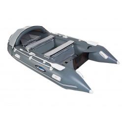 Лодка Gladiator C370AL темно-серый