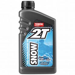 Моторное масло 2-тактное TEBOIL Snow 2T 1л