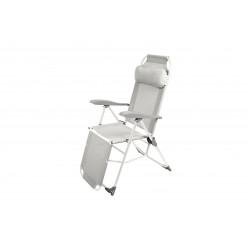Кресло-шезлонг складное  К3/С серый
