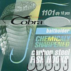 Крючки COBRA C1101 NSB-10/0
