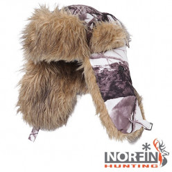 Шапка-ушанка Norfin Hunting 750 White L