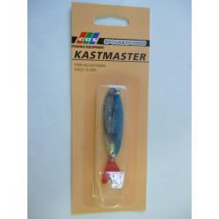 Блесна Кастмастер10,5гр серебро-синий