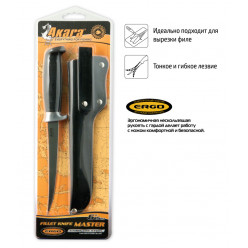Нож Akara Fillet Master FK18-6 15см кож чехол