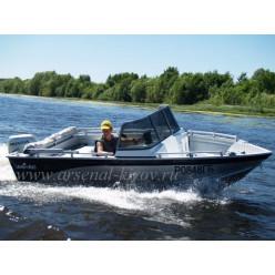 Катер алюминиевый TUNA Boats 450 PL CAN