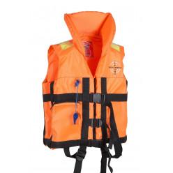 Жилет спасательный Детский Dolphin цв.Оранжевый тк.Оксфорд р.36-40 30кг