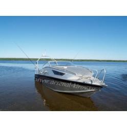 Катер алюминиевый TUNA Boats 600 СR