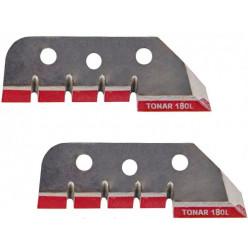 Ножи д/ледобура Торнадо-180(L) левое вращение