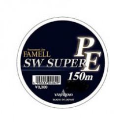 Плетеный шнур Yamatoyo FameLL SW Super PE  DarkGreen 0.6 150м 0.128мм