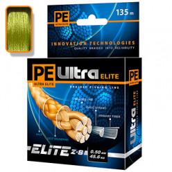 Плетеный шнур PE ULTRA ELITE Z-8 0,50мм 135м оливковый